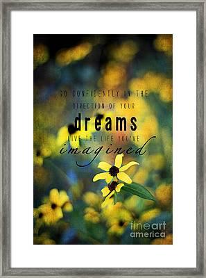 Dreams Framed Print by Darren Fisher