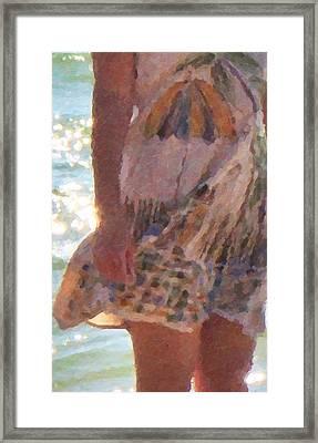 Dress Code Framed Print