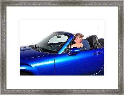 Drive My Car Framed Print by Jim Boardman