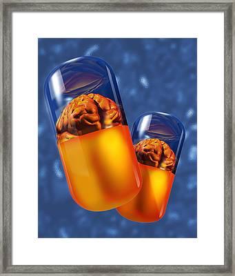Drug Abuse Framed Print by Victor Habbick Visions