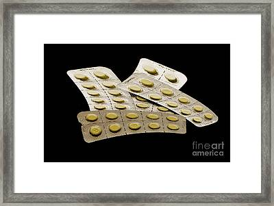 Drug Framed Print by Odon Czintos
