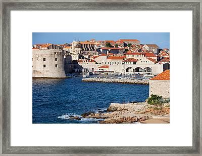 Dubrovnik Old City Architecture Framed Print by Artur Bogacki