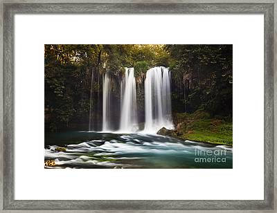 Duden Waterfalls Framed Print by Andre Goncalves