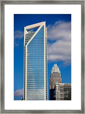 Duke Energy Tower Framed Print