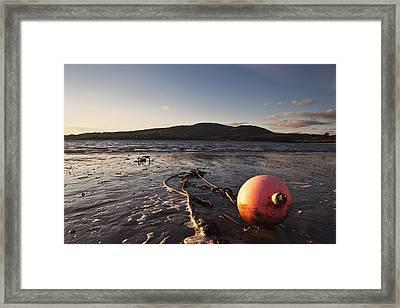 Dumfries, Scotland A Rope Tied To A Framed Print