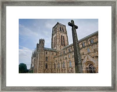 Durham Cathedral Framed Print by Andrew  Michael