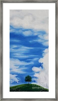 Dusk Day Dawn Series Framed Print by Seth Corda
