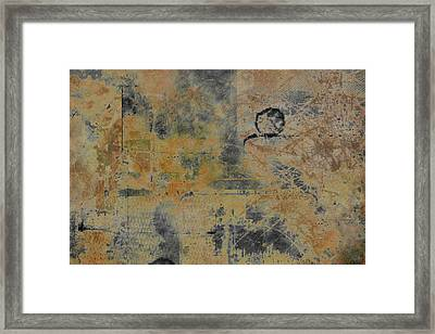 Dust And Ash Framed Print