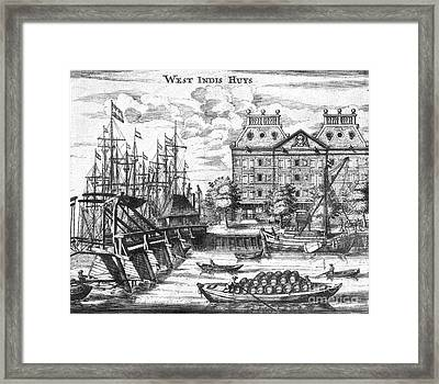 Dutch West India Company Warehouse Framed Print