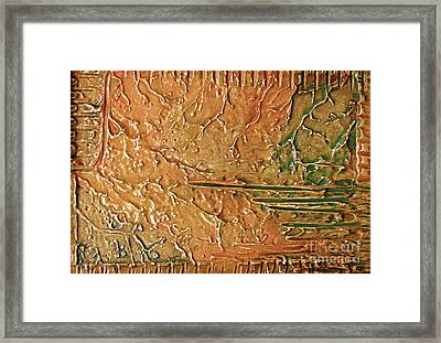 Framed Print featuring the painting Dvapara by D Renee Wilson