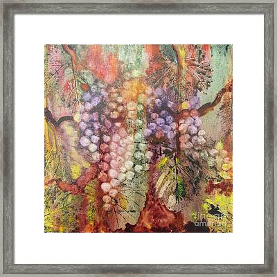 Early Harvest Framed Print by Karen Fleschler