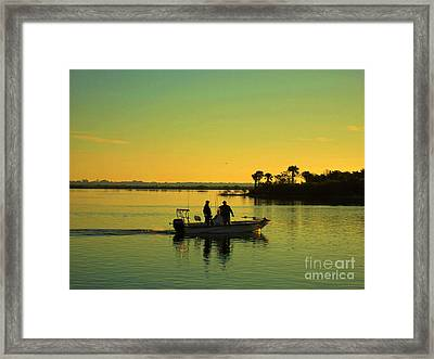 Early In The Morning Framed Print by Susanne Van Hulst