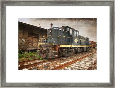 East Penn Locomotive Framed Print by Paul Ward