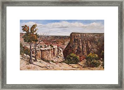 Easter On The Edge Framed Print