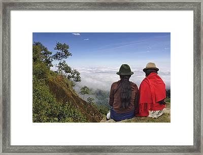 Ecuador Framed Print by Christian Heeb
