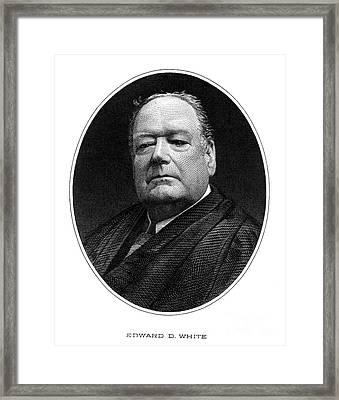 Edward Douglass White Framed Print by Granger
