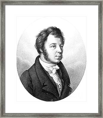 Eilhard Mitscherlich, German Chemist Framed Print by Science Source