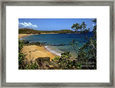 El Convento Beach Framed Print by Thomas R Fletcher