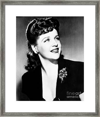 Eleanor Steber (1916-1990) Framed Print by Granger