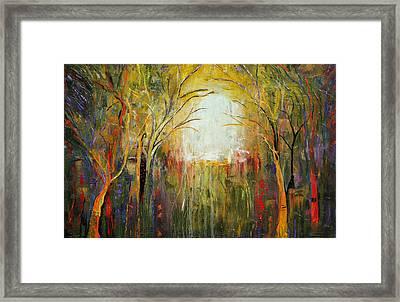 Electric Forest Framed Print