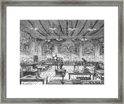 Electrical Exposition, 1881 Framed Print