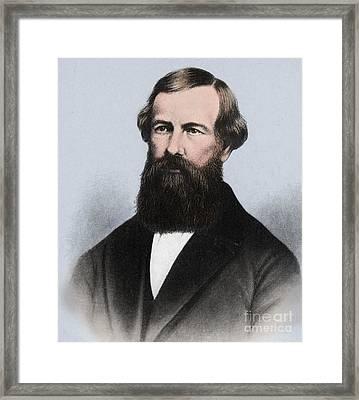 Elisha Graves Otis Framed Print