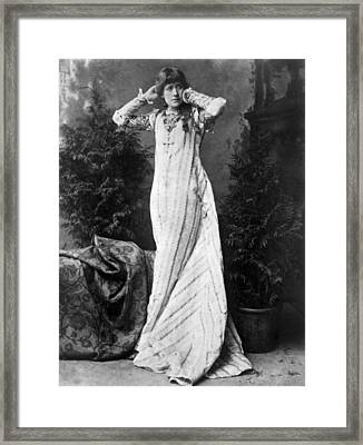 Ellen Terry (1847-1928) Framed Print by Granger