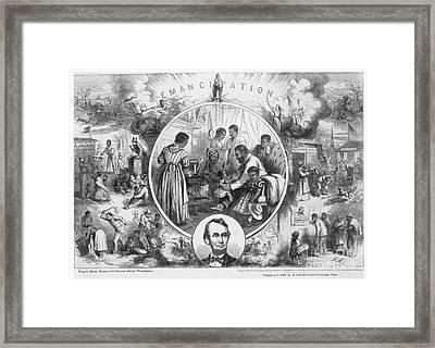 Emancipation Proclamation Framed Print