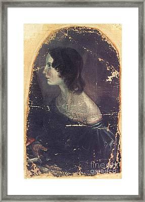 Emily Bront� (1818-1848) Framed Print