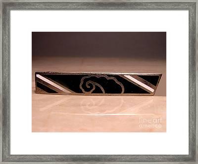 Enamels 34 Framed Print by Dwight Goss