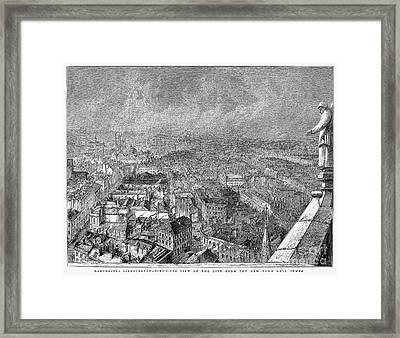 England: Manchester, 1876 Framed Print by Granger