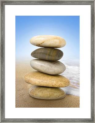 Equilibrium Framed Print by Marc Huebner
