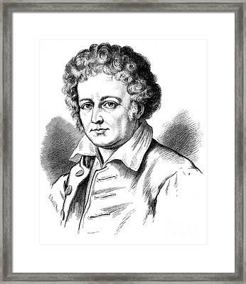 Esaias Tegner (1782-1846) Framed Print by Granger