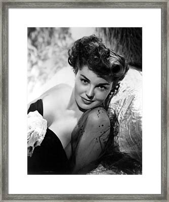Esther Williams, Portrait Framed Print by Everett