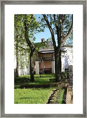 Euthimiev Monastry 49 Framed Print by Padamvir Singh