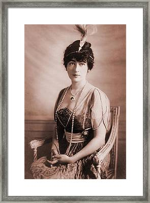 Evalyn Walsh Mclean, 1886-1947, Wife Framed Print by Everett