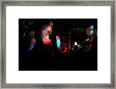 Evan Framed Print by Valerie McDougal