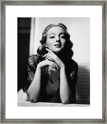 Evelyn Keyes, 1939 Framed Print by Everett