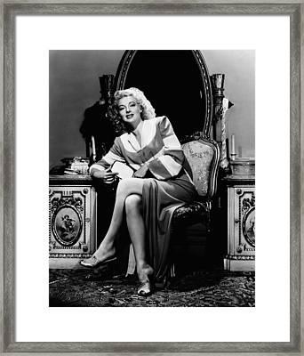 Evelyn Keyes, 1943 Framed Print by Everett