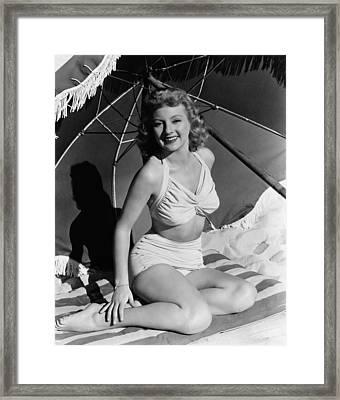 Evelyn Keyes, 1946 Framed Print by Everett