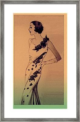 Evening Elegance Framed Print