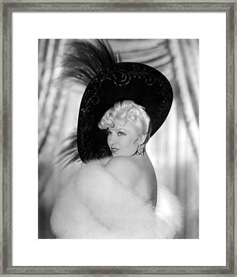 Every Days A Holiday, Mae West, 1937 Framed Print
