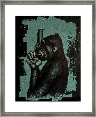 Evolution Framed Print by Jeff DOttavio