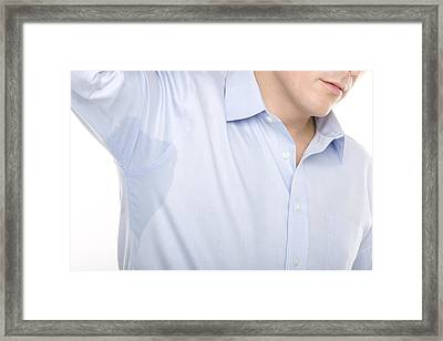 Excessive Sweating Framed Print by