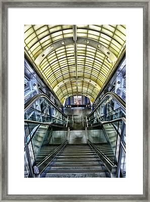 Exit Framed Print