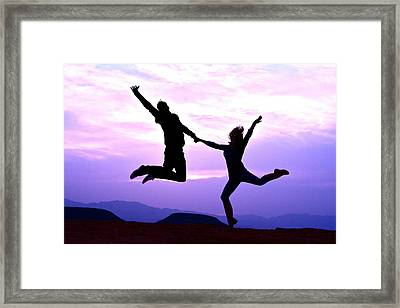 Expression Of  Elation Framed Print