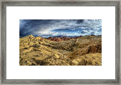 Eye Of The Storm Framed Print by Stephen Campbell