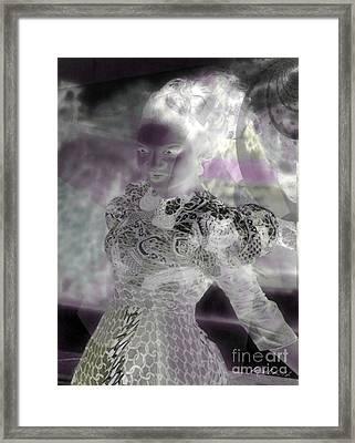 Eyes Of Nigeria Framed Print by Fania Simon