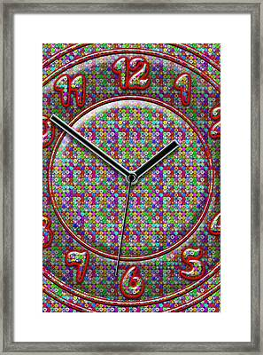 Faces Of Time 2 Framed Print