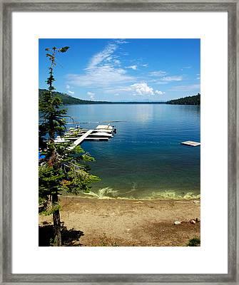 Fallen Leaf Lake Lake Tahoe Framed Print
